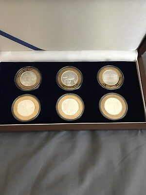 Six $10 Gaming Tokens Limited Edition with Case Las Vegas