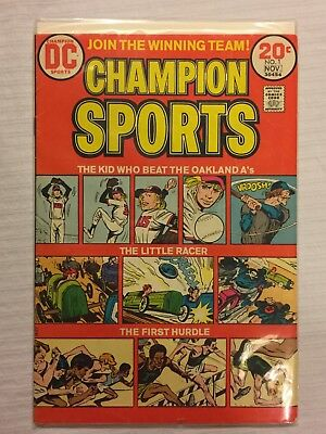 Champion Sports #1 (Oct-Nov 1973, DC Comics)