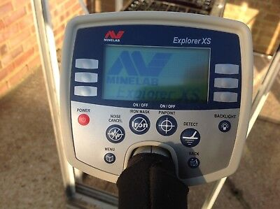 Minelab Explorer xs + pro coil and extras