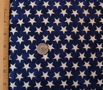 Patriotic 49535 White House Eagle Military Soldiers Blue Cotton Fabric 1//2 YARD