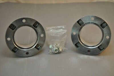 Driven Products Wheel Spacers Silver Bolt Pattern 4/115 Part# 0222-0144