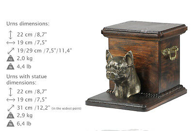Chihuahua smoothhaired, dog urn made of cold cast bronze, ArtDog, CA - kind2