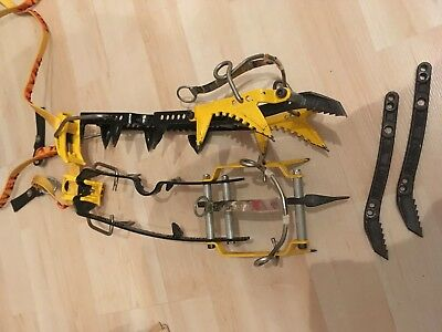 Steigeisen Grivel Rambo Steileis Eisklettern Crampon Simond Wasserfall Klettern