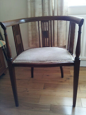 Two antique carver chairs