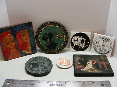 Collection of Tiles Egypt Ramses II Button Yair Aohna?