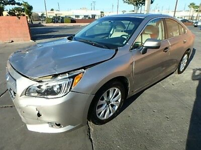 2017 Subaru Legacy 2.5i Premium 2017 Subaru Legacy 2.5i Premium Salvage Wrecked Repairable! Priced To Sell! L@@k