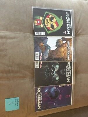 Infamous Iron Man - Issues #1-4