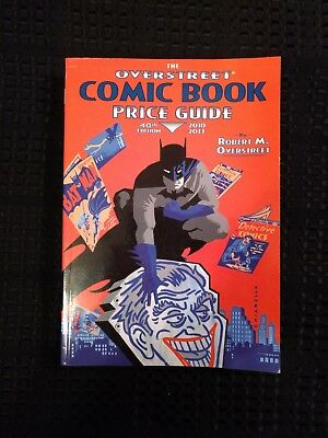 The Overstreet Comic Book Price Guide 40Th Edition-Soft Cover- Batman/joker!!