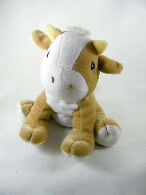Tender Tails Plush Cow Precious Moments 1998 Stuffed Beanbag Toy