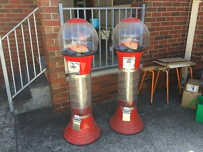Candy-Kid Toy Capsule Vending Gumball Machine x 2