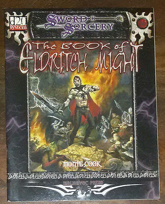 The Book of Eldritch Might A Game Book by Monte Cook Sword & Sorcery Englisch