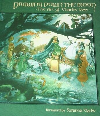 ART of CHARLES VESS Drawing Down The Moon HC 1st ED Stardust- Gaiman Mr Norrell