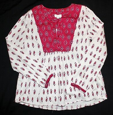 Girls L/S Top Size 10
