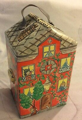 1999 Madeline House Paris Doll Carrying Case With Handle EUC