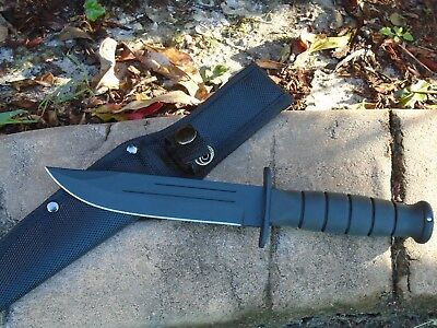 """10.5"""" Marine Raider Tactical Military Survival Hunting Fixed Blade Knife"""