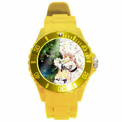 Anime Chobits ultimate yellow lightweight and durable watch