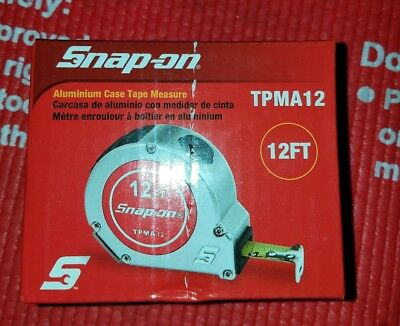 Snap On 12'  Tape Measure tpma12  New In Box