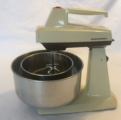 Vintage Hamilton Beach Scovill Convertible Stand Mixer Model 58 Five Speed