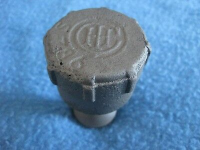 Vintage Antique Ih International Harvester Tractor Engine Oil Grease Cap Oiler