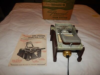 Vintage Sawyer's View-Master FC-1 Film Cutter for Personal Stereo Camera Reels