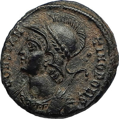 CONSTANTINE I the GREAT Founds Constantinople Original Ancient Roman Coin i67313