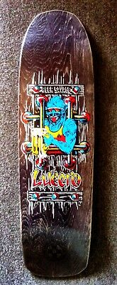Black Label Lucero NOS Skateboard Deck Powell Peralta Grosso Natas