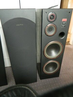Audioline speaker towers