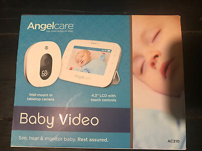 Angelcare Video Monitor Ac310 2X Cameras W/ Parent Unit