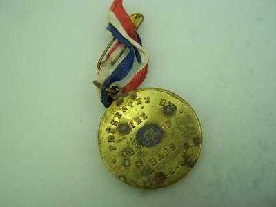 1953 Coronation Medallion Queen Elizabeth II Presented by the Shire of Bass 2389