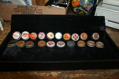 Lot of 20 Bottle Caps Cork Lined Orange Crush Mil-Kay Sun Crest 7Up RC Nehi