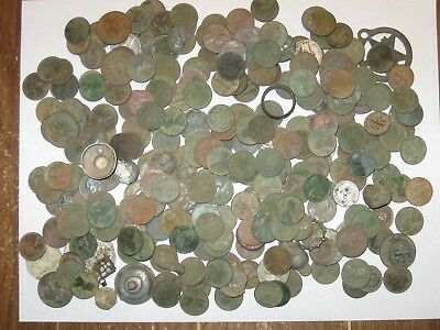 Metal Dector Finds Lot of Over 275 coins, Tax Tokens. Over 2 Pounds of Treasure!