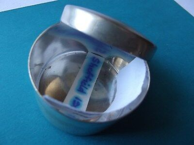"Antique/Collectable-""Silver Snuff/Pill Box""-George V 1917?- Hallmarked-Sheffield"