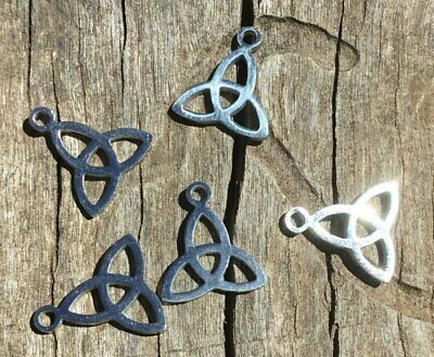304 Stainless Steel Triquetra Charm Pack Of 5 12x1mm Oz Seller #002