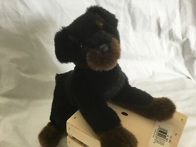 Douglas cuddle Toys Rottweiler Dog #1891 (Retired)