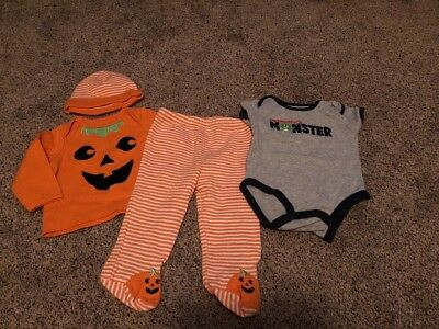 Baby Boy Halloween Outfit Size 6 Months