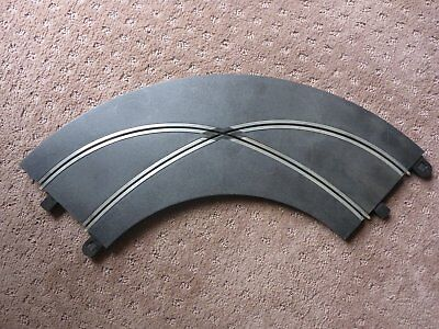 SCALEXTRIC 2 x Sports Radius Curve 90 Degree Crossover Track