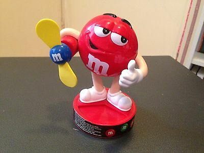 M&m's Red With Fan Dispenser