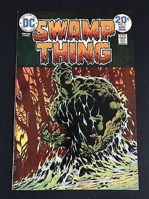 Swamp Thing #9 (1974) Wrightson 1st Print HIGH GRADE VF