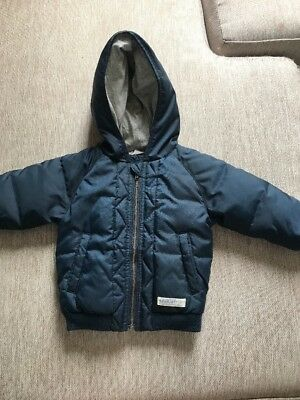 Country Road Baby Jacket 6-12mth Sz0 Puffer Jacket. Thick Coat Water Proof