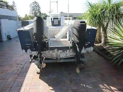 Boat, fishing boat, dive boat, centre console, plate alloy