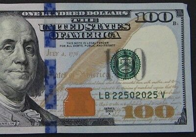 2009A $100 (One Hundred Dollars) – Note, Bill – Fancy Serial Number – Trinary
