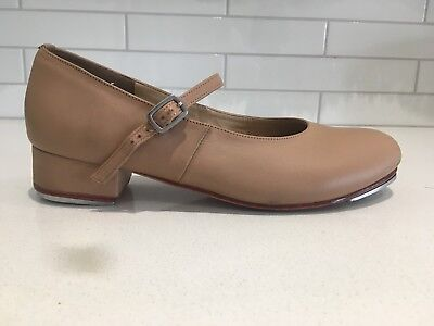 Energetiks Tan Leather Tap shoes size 9.5