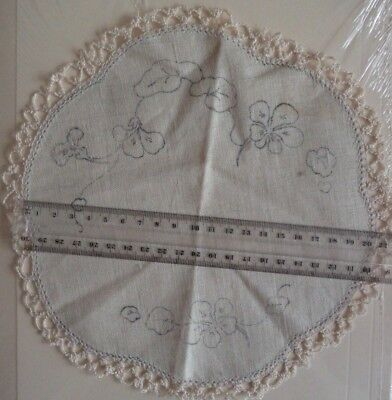 20cm Doily to embroider