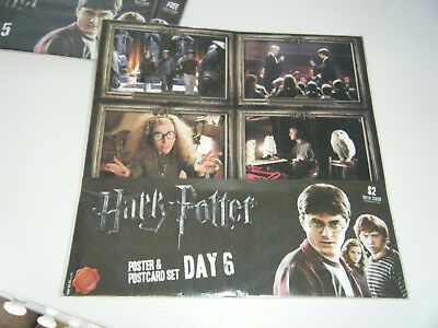 Harry Potter - Poster and Postcard set - Day 6