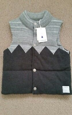 Boys Country road vest size 6-7 BNWT