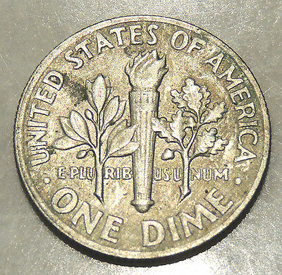 United States Of America - One Dime Coin - 1972 - Reasonable Cond For Age