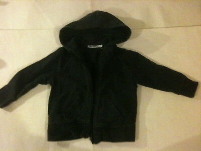 'PURE TOUCH' GIRLS'S / BOY'S LONG SLEEVE HOODIE JACKET - Size 3 - Navy Blue
