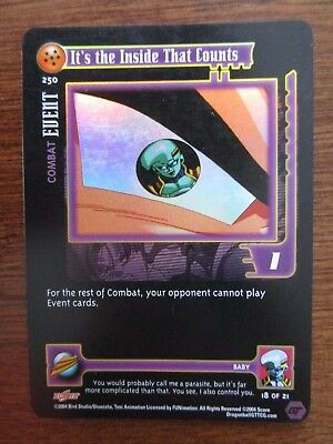 Dragonball GT DBZ CCG Limited Edition Its the Inside That Counts Ultra Rare UR