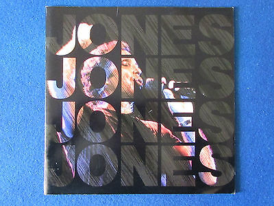 Tom Jones - Concert Tour Programme - 1991