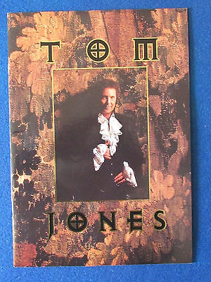 Tom Jones - Concert Tour Programme - 1994